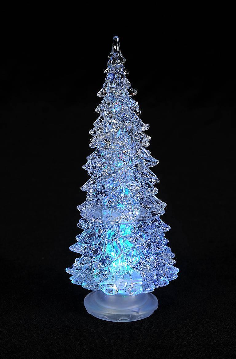 Елка светодиодная Mister Christmas, высота 20 смG16322Светодиодная елка Mister Christmas прекрасно подходит для оформления праздничного интерьера и создания новогодней атмосферы. Елка, выполненная из высококачественного пластика, попеременно подсвечивается разноцветными светодиодными огоньками и создает таинственную романтическую обстановку. Благодаря такой оригинальной светодиодной елочке ваши праздники и будни окрасятся в новые цвета.Изделие работает от 2 батареектипа CR1220 (входят в комплект).