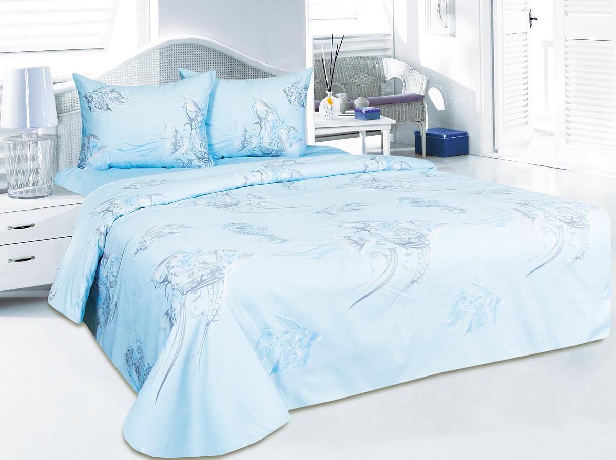 Комплект белья Tete-a-Tete Океания, 2-спальный, наволочки 50x70T758Комплект белья Tete-a-Tete Океания изготовлен из органического 100% хлопка и состоит из пододеяльника, простыни и двух наволочек. Сатин - хлопчатобумажная ткань полотняного переплетения, одна из самых красивых, легких, мягких и приятных телу тканей, изготовленных из натурального волокна. Благодаря своей шелковистости и блеску сатин называют хлопковым шелком. Комплект постельного белья Tete-a-Tete Океания добавит изюминку в привычное оформление вашего интерьера и создаст уютную и теплую атмосферу или, наоборот, добавит ярких красок и расставит акценты.