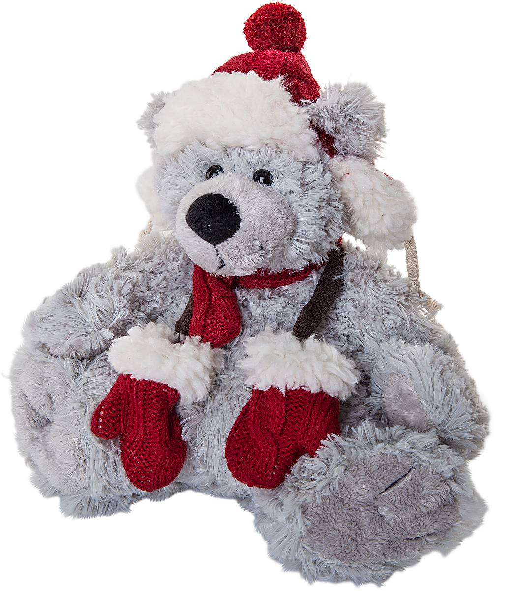 Игрушка новогодняя мягкая Mister Christmas Медвежонок, высота 20 см. WD-LG-R2SL250 503 09Мягкая новогодняя игрушка Mister Christmas Медвежонок, изготовленная из текстиля, прекрасно подойдет для праздничного декора дома. Изделие можно разместить в любом понравившемся вам месте. Новогодняя игрушка несет в себе волшебство и красоту праздника. Создайте в своем доме атмосферу веселья и радости, украшая дом красивыми игрушками, которые будут из года в год накапливать теплоту воспоминаний.