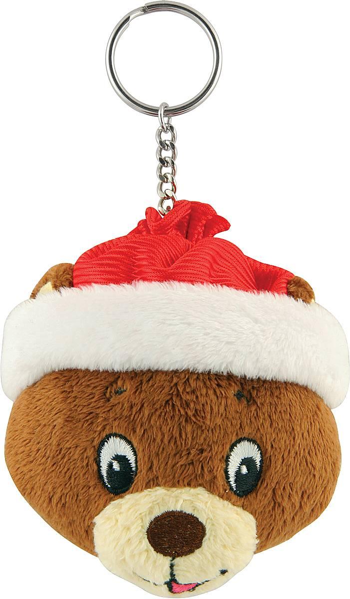 Брелок новогодний Mister Christmas Мишка, высота 10 см322Брелок Mister Christmas Мишка станет прекрасным новогодним сувениром и обязательно порадует получателя. Декоративная часть выполнена из текстиля в виде головы медведя. Брелок снабжен металлическим кольцом для ключей. Брелок Mister Christmas Мишка - сувенир в полном смысле этого слова. В переводе с французского souvenir означает воспоминание. И главная задача любого сувенира - хранить воспоминание о месте, где вы побывали, или о том человеке, который подарил данный предмет. Высота брелока (с учетом кольца): 10 см.