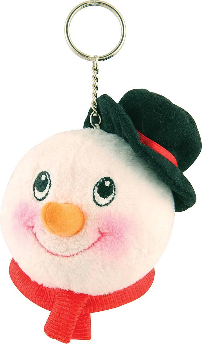 Брелок новогодний Mister Christmas Снеговик, высота 10 см50Брелок Mister Christmas Снеговик станет прекрасным новогодним сувениром и обязательно порадует получателя. Декоративная часть выполнена из текстиля в виде головы снеговика. Брелок снабжен металлическим кольцом для ключей. Брелок Mister Christmas Снеговик - сувенир в полном смысле этого слова. В переводе с французского souvenir означает воспоминание. И главная задача любого сувенира - хранить воспоминание о месте, где вы побывали, или о том человеке, который подарил данный предмет. Высота брелока (с учетом кольца): 10 см.