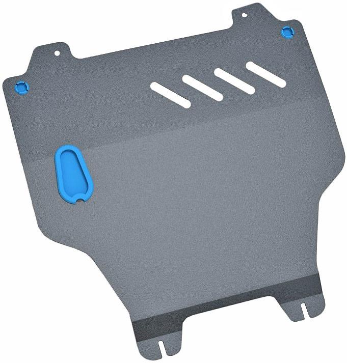 Защита картера и крепеж Novline-Autofamily, для KIA Cadenza, 2010-, 3.5 бензиновый, АКППNTS-101C blueЗащита картера Novline-Autofamily, изготовленная из прочной стали, надежно защищает днище вашего автомобиля от повреждений, например при наезде на бордюры, а также выполняет эстетическую функцию при установке на высокие автомобили.- Отлично отводит тепло от двигателя своей поверхностью, что спасает двигатель от перегрева в летний период или при высоких нагрузках.- В отличие от стальных, стальные защиты не поддаются коррозии, что гарантирует долгий срок службы защит.- Покрываются порошковой краской, что надолго сохраняет первоначальный вид новой защиты и защищает от гальванической коррозии.- Прочное крепление дополнительно усиливает конструкцию защиты.