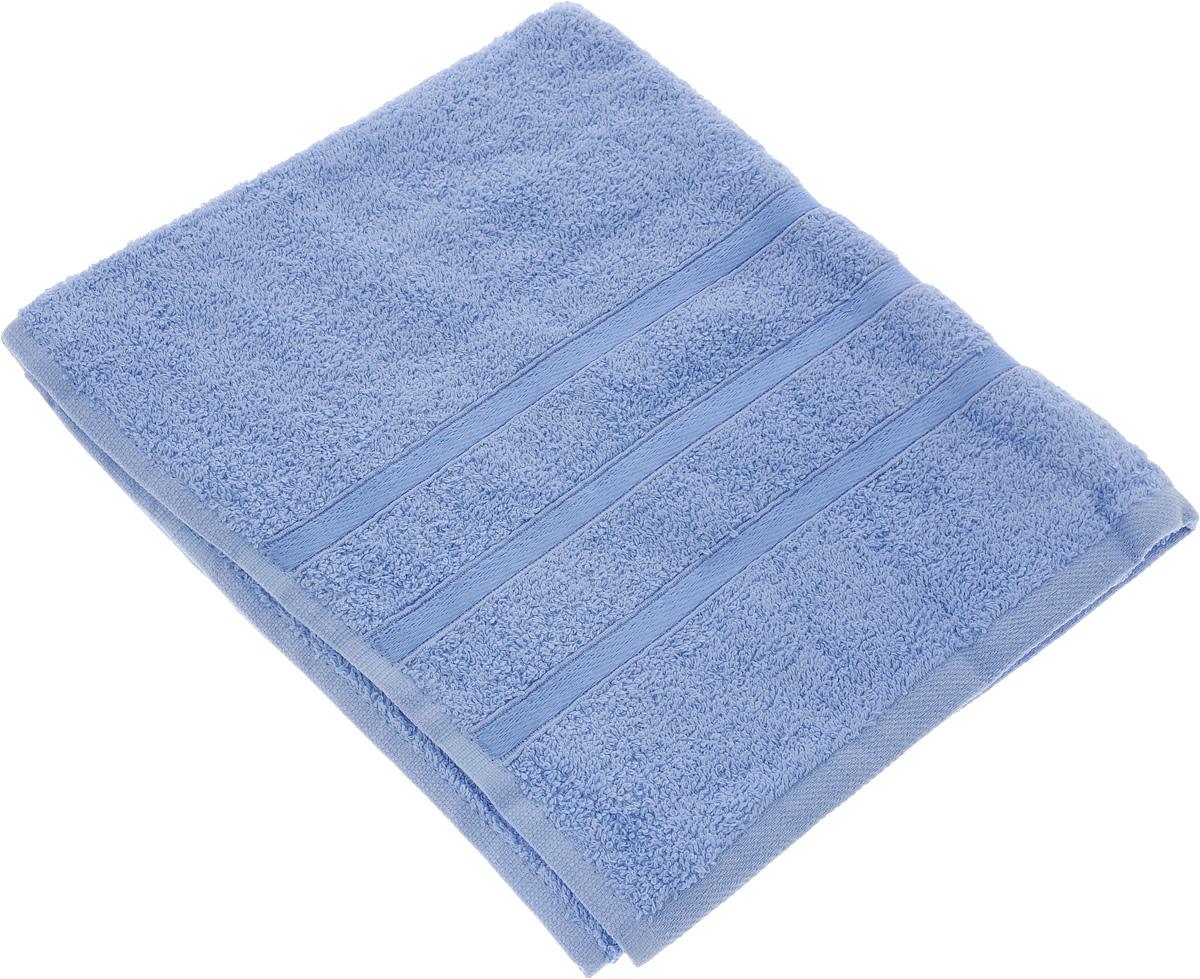 Полотенце Tete-a-Tete Ленты, цвет: голубой, 50 х 85 см. УП-00183017Полотенце Tete-a-Tete Ленты выполнено из 100% хлопка. Изделие отлично впитывает влагу, быстро сохнет, сохраняет яркость цвета и не теряет форму даже после многократных стирок. Такое полотенце очень практично и неприхотливо в уходе. Оно создаст прекрасное настроение и украсит интерьер в ванной комнате.