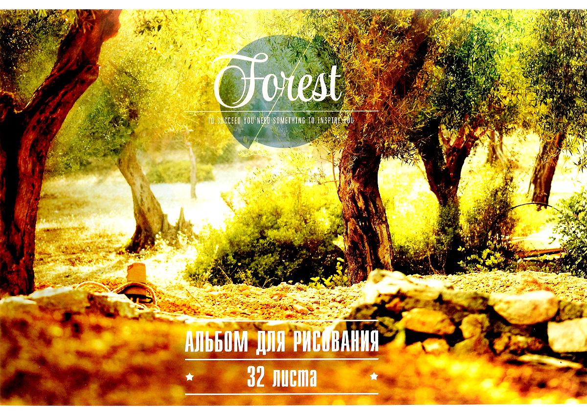 ArtSpace Альбом для рисования Природа Inspiration 32 листа72523WDАльбом для рисования ArtSpace Природа. Inspiration будет вдохновлять ребенка на творческий процесс.Альбом изготовлен из белоснежной бумаги с яркой обложкой из плотного картона, оформленной изображением цветущих деревьев в лесу. Внутренний блок альбома состоит из 32 листов бумаги. Тип скрепления альбома - склейка.Высокое качество бумаги позволяет рисовать в альбоме карандашами, фломастерами, акварельными и гуашевыми красками.Во время рисования совершенствуются ассоциативное, аналитическое и творческое мышления. Занимаясь изобразительным творчеством, малыш тренирует мелкую моторику рук, становится более усидчивым и спокойным.