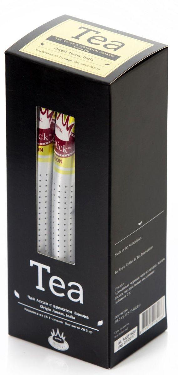 Royal T-Stick Lemon Tea черный чай в стиках, 15 шт ñ‡ð°ð¹ royal t stick ñ‡ð°ð¹