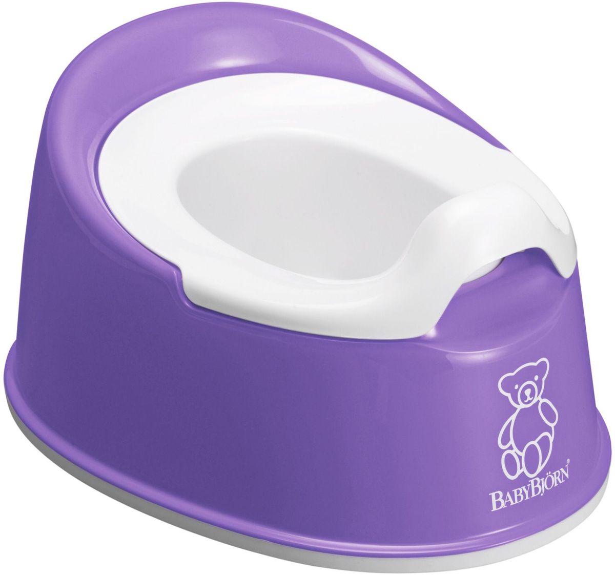 BABYBJORN Smart Горшок отличается эргономическим дизайном и мягкими линиями, благодаря чему ребенку приятно и удобно им пользоваться. BABYBJORN Smart Горшок являет собой превосходное сочетание функциональности и удобства и идеально подходит для небольшой ванной комнаты. Он занимает мало места и его легко брать с собой. Действенная защита от брызг полностью предотвращает разбрызгивание. Внутренняя часть горшка легко вынимается, удобно мыть. Как и все наши пластмассовые изделия, он сделан из пластмассы, поддающейся утилизации и не содержащей ПВХ. В пластмассовых изделиях BABYBJORN не содержится бисфенол А (BPA). Размеры: 25,5 x 33 x 16,5 cm