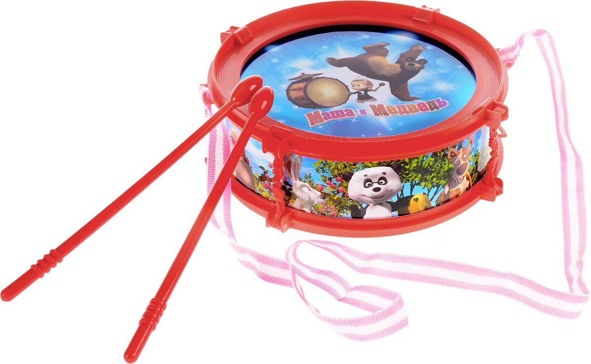 Играем вместе Барабан Маша и Медведь B672011-R2