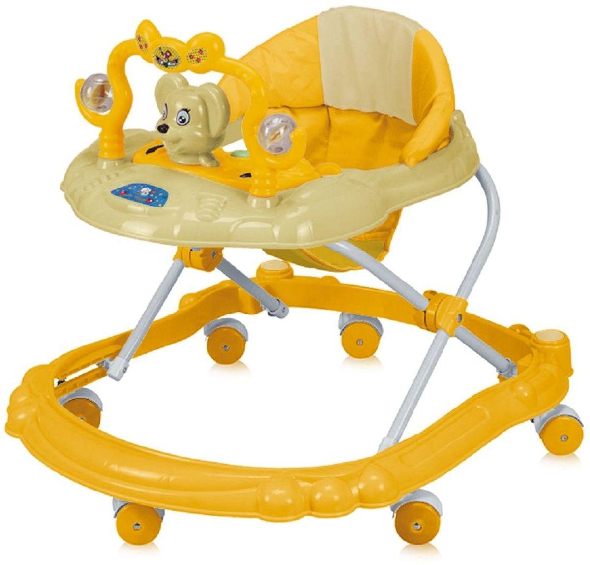 Bertoni Ходунки BW 2808 цвет желтый -  Ходунки, прыгунки, качалки