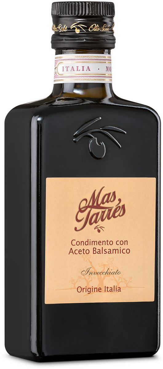 Olis Sole Бальзамический уксус Mas Tarres, 250 мл2351Оли соле Бальзамический уксус Мас Тарес - натуральный продукт, необыкновенно таинственная приправа, которая придаст вашим блюдам насыщенные оттенки вкуса! В составе только оливковое масло Extra Virgin и бальзамический уксус вина сорта Trebbiano, Модены. 7 лет выдержки в дубовых бочках! Имеет темно-коричневый цвет. Обладает терпким запахом, виноградным вкусом. Приготовление бальзамического уксуса намного сложнее и дольше, чем яблочного или винного. Сначала отжатый сок винограда сорта треббьяно – мелкого, зеленого, кисловатого – варят, пока он не станет густым и коричневым. Это – виноградное сусло, к которому добавляют немного винного уксуса – для активации и ускорения процесса брожения, и затем сусло заливается в бочки. Для того чтобы уксус приобрел свой многогранный вкус, используют бочки из разных пород деревьев, которые отдают ему свои ароматы и одновременно впитывают лишнюю влагу. Сначала сусло настаивается в маленьких бочках из ясеня и дуба, затем часть настоянного на густых ароматах уксуса добавляется к тому, что созрело в бочках среднего размера из каштана и вишни. На третьем этапе приготовления часть настоявшегося уксуса из средней бочки добавляется в большую бочку со сладким запахом тутового дерева.Производители уксуса, как это делали знатные гурманы Средневековья, держат в секрете точные списки специй, которыми разнообразят вкус бальзамико, – у каждого они свои.
