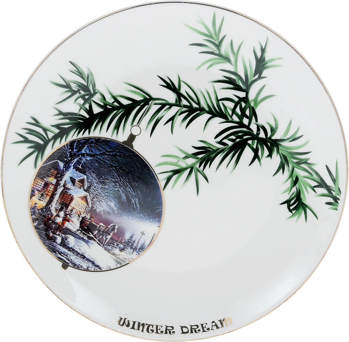 Тарелка Lillo Winter Dream, диаметр 22,5 см. 2730316