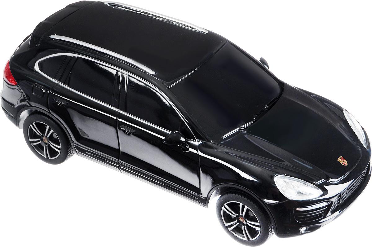 """Радиоуправляемая модель Rastar """"Porsche Cayenne Turbo"""" - точная копия настоящего автомобиля, выполненная в масштабе 1/24. Автомобиль обладает неповторимым провокационным стилем и спортивным характером. Машина с литым корпусом изготовлена из современных прочных материалов и обладает высокой стабильностью движения, что позволяет полностью контролировать ее процесс, управляя без суеты и страха сломать игрушку. Управление машинкой осуществляется при помощи пульта управления, который работает на частоте 27 MHz. Основные направления движения автомобиля: вперед-назад, направо-налево. Подарите вашему малышу возможность почувствовать себя настоящим водителем. Для работы автомобиля необходимо купить 3 батарейки напряжением 1,5V типа АА (не входят в комплект). Для работы пульта управления необходимо купить 2 батарейки напряжением 1,5V типа АА (не входят в комплект)."""