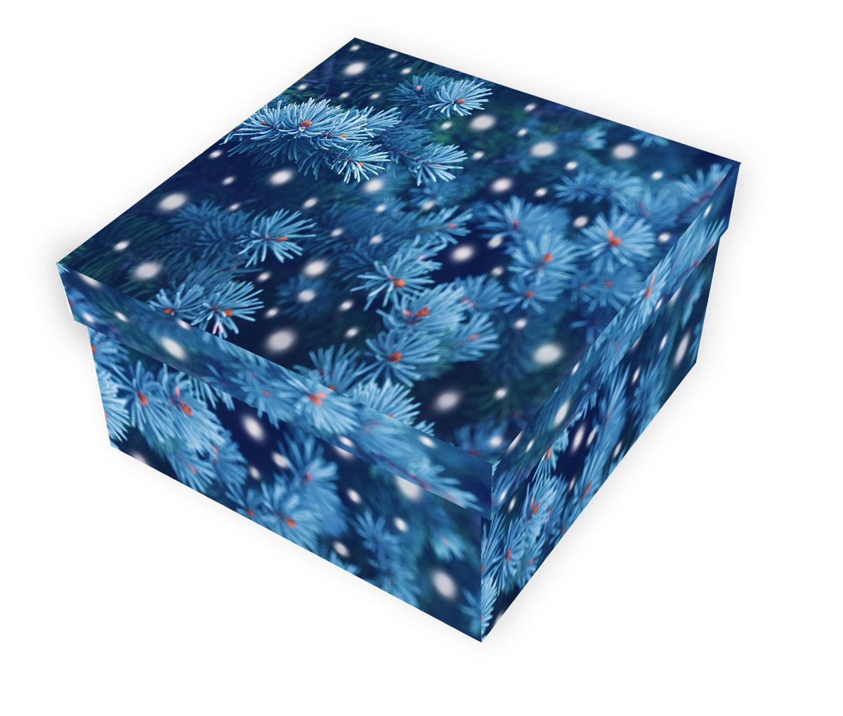 Коробка подарочная Proffi Home Снежная ель, 10 х 19 х 19 см7714024_BK038 персиковыйБольшие картонные коробкиProffi Home Снежная ель идеально подходят для упаковки объемных подарков.Коробка изготовлена из плотного цветного картона.