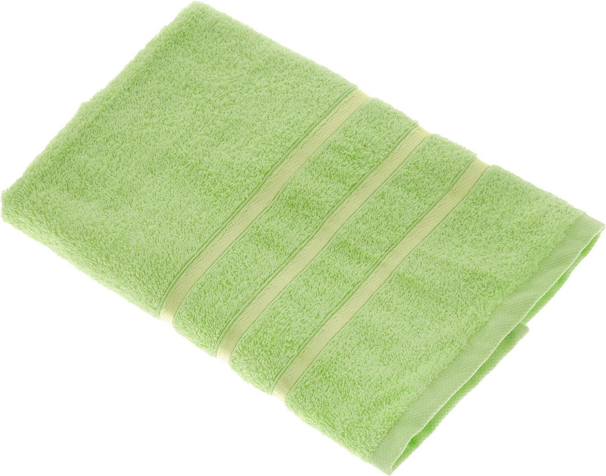 Полотенце Tete-a-Tete Ленты, цвет: салатовый, 50 х 85 см531-105Махровое полотенце Tete-a-Tete Ленты, изготовленное из натурального хлопка, подарит массу положительных эмоций и приятных ощущений. Полотенце отличается нежностью и мягкостью материала, утонченным дизайном и превосходным качеством. Линейка Ленты декорирована атласными лентами и обладает насыщенным цветом.Полотенце прекрасно впитывает влагу, быстро сохнет и не теряет своих свойств после многократных стирок. Махровое полотенце Tete-a-Tete Ленты станет прекрасным дополнением в дизайне ванной комнаты. Полотенце, упакованное в красивую коробку, может послужить отличной идеей подарка.