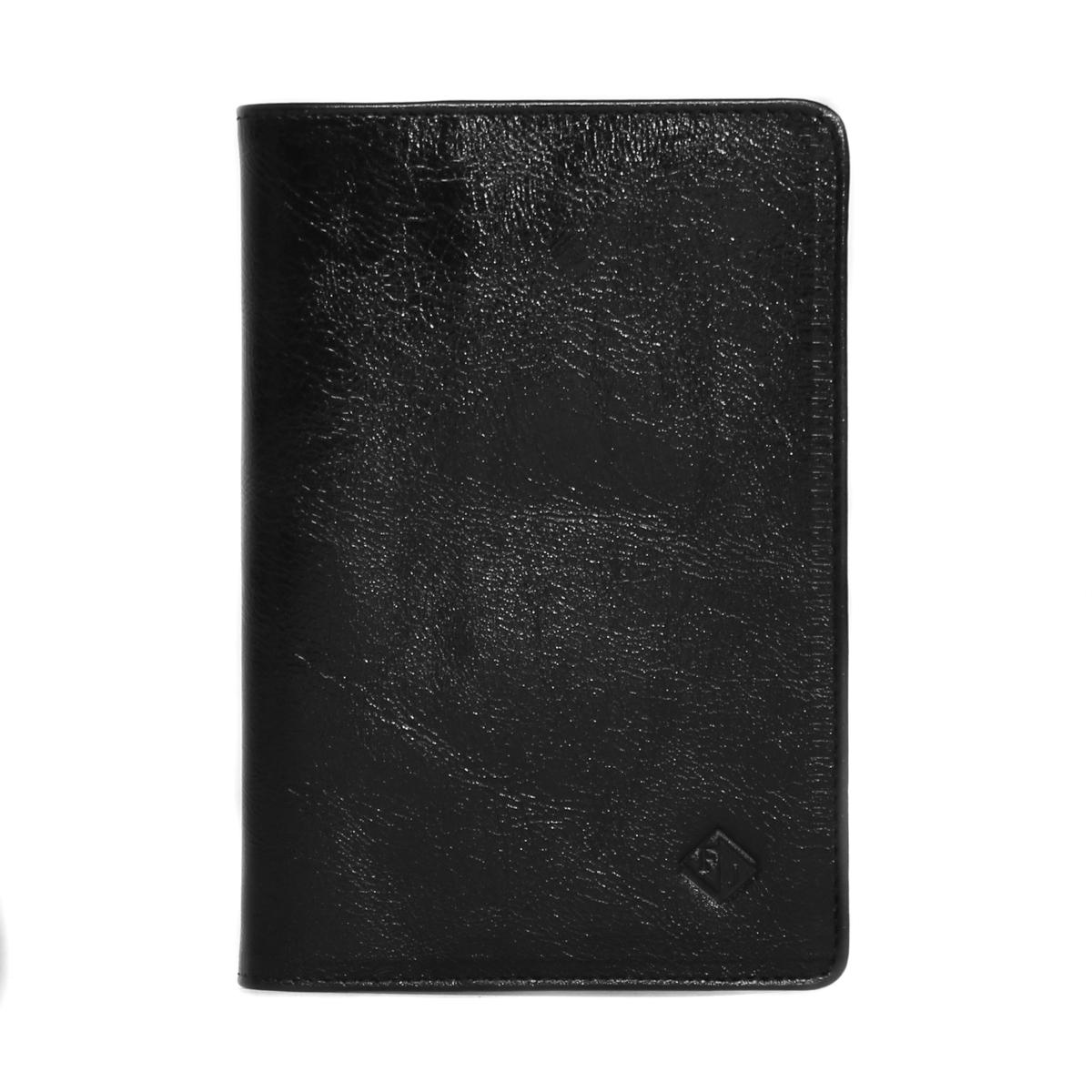 Обложка для паспорта Flioraj, цвет: черный. 00051113MWH5602/3Обложка для паспорта Flioraj - удобная и практичная обложка для документов.