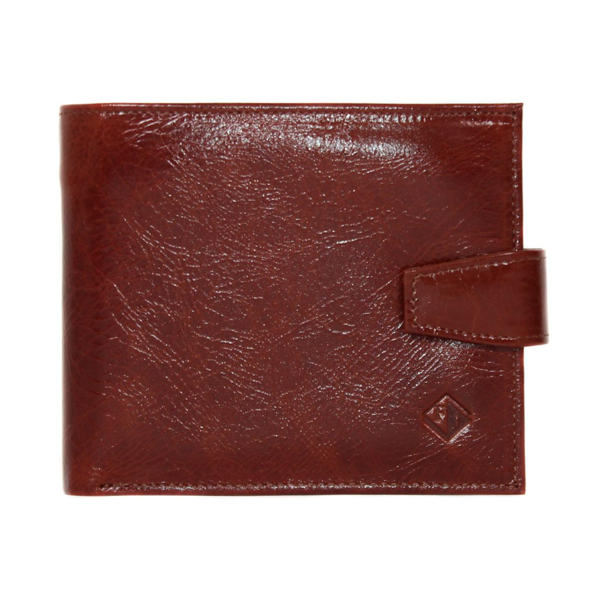 Портмоне мужское Flioraj, цвет: коричневый. 00051125392678Портмоне Flioraj выполнено из натуральной кожи. Внутри расположены отделения для купюр, отделение для фото, кармашки для визиток и банковских карт.