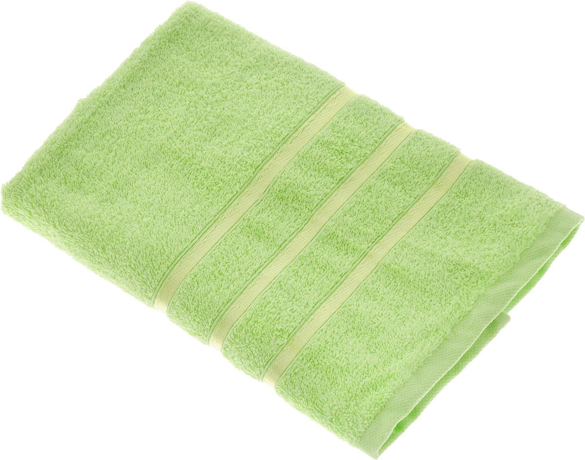 Полотенце Tete-a-Tete Ленты, цвет: салатовый, 70 х 135 см. УП-002391602Полотенце Tete-a-Tete Ленты выполнено из натуральной махровой ткани (100% хлопок). Изделие отлично впитывает влагу, быстро сохнет, сохраняет яркость цвета и не теряет форму даже после многократных стирок. Полотенце очень практично и неприхотливо в уходе. Оно станет достойным выбором для вас и приятным подарком для ваших близких.