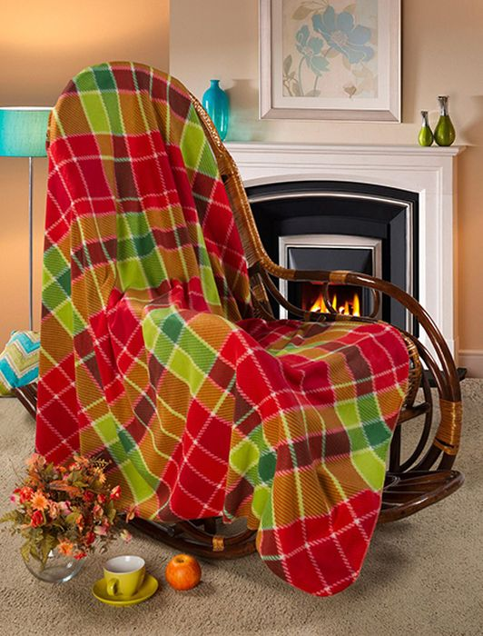 Покрывало Guten Morgen Торнадо, 150 х 200 смПФ-Тор-150-200Мягкое покрывало Guten Morgen, изготовленное из флиса (100% полиэстера), может стать не только красивым и практичным аксессуаром для интерьера вашей спальни, но и олицетворением уюта и теплоты вашего дома.Как приятно завернуться в теплое покрывало с чашечкой ароматного чая и скоротать за хорошей книгой долгий зимний вечер.