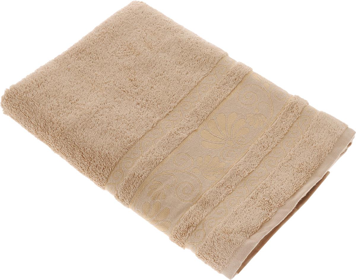 Полотенце Tete-a-Tete Цветы, цвет: молочный, 70 х 140 см19201Махровое полотенце Tete-a-Tete Цветы, изготовленное из натурального хлопка, подарит массу положительных эмоций и приятных ощущений. Полотенце отличается нежностью и мягкостью материала, утонченным дизайном и превосходным качеством. Линейка Цветы создавалась специально для женщин, она декорирована бордюром с растительным мотивом и выполнена в нежнейших тонах.Полотенце прекрасно впитывает влагу, быстро сохнет и не теряет своих свойств после многократных стирок. Махровое полотенце Tete-a-Tete Цветы станет прекрасным дополнением в дизайне ванной комнаты. Полотенце, упакованное в красивую коробку, может послужить отличной идеей подарка.