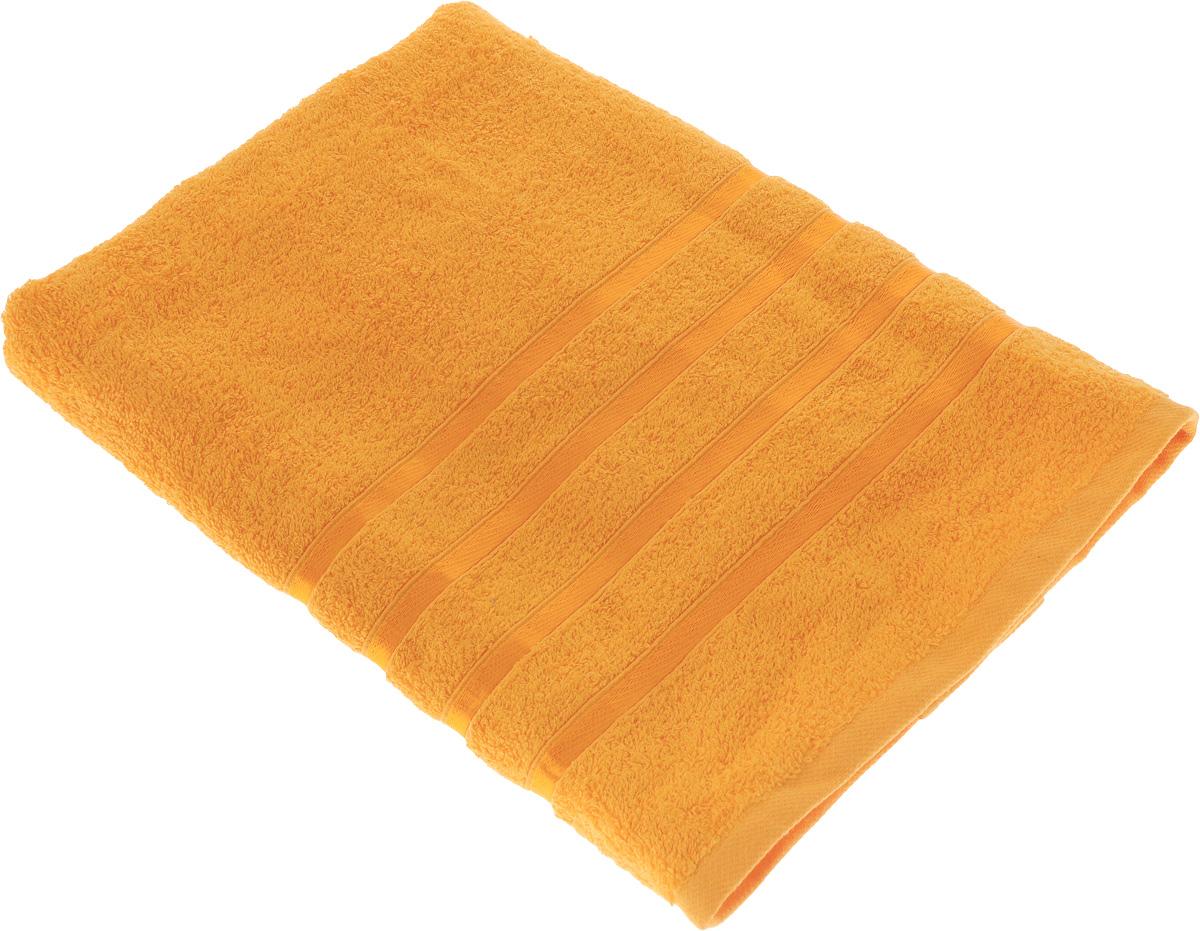 Полотенце Tete-a-Tete Ленты, цвет: оранжевый, 70 х 135 см531-401Махровое полотенце Tete-a-Tete Ленты, изготовленное из натурального хлопка, подарит массу положительных эмоций и приятных ощущений. Полотенце отличается нежностью и мягкостью материала, утонченным дизайном и превосходным качеством. Линейка Ленты декорирована атласными лентами и обладает насыщенным цветом.Полотенце прекрасно впитывает влагу, быстро сохнет и не теряет своих свойств после многократных стирок. Махровое полотенце Tete-a-Tete Ленты станет прекрасным дополнением в дизайне ванной комнаты. Полотенце, упакованное в красивую коробку, может послужить отличной идеей подарка.
