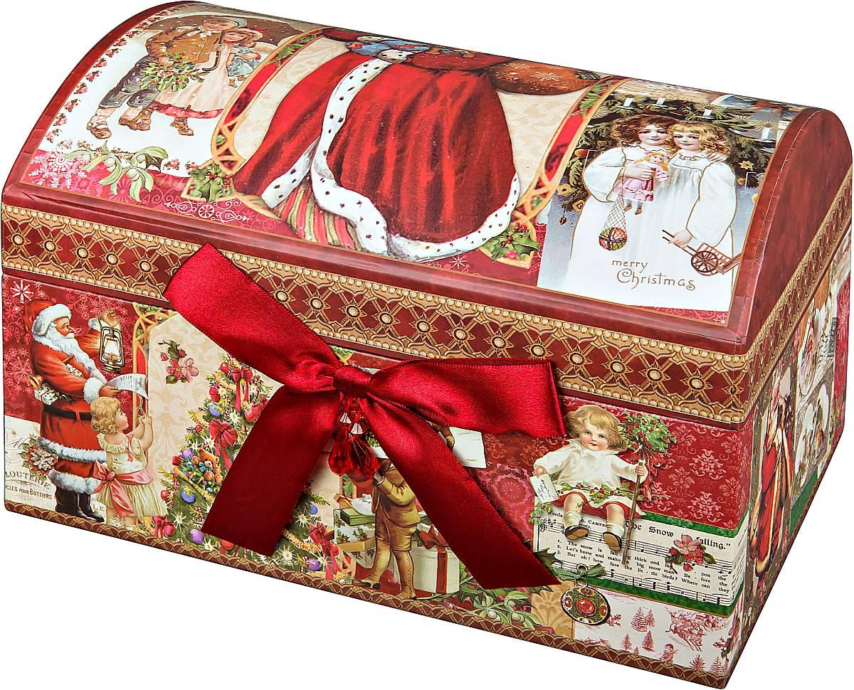 Коробка подарочная Mister Christmas Сундук, 15 х 9 х 9 смBUL009Картонная коробка Mister Christmas Сундук - это один из самых распространенных вариантов упаковки подарков. Любой, даже самый нестандартный подарок упакованный в такую коробку, создаст момент легкой интриги, а плотный картон сохранит содержимое в первоначальном виде. Оригинальный дизайн самой коробки будет долго напоминать владельцу о трогательных моментах получения подарка.