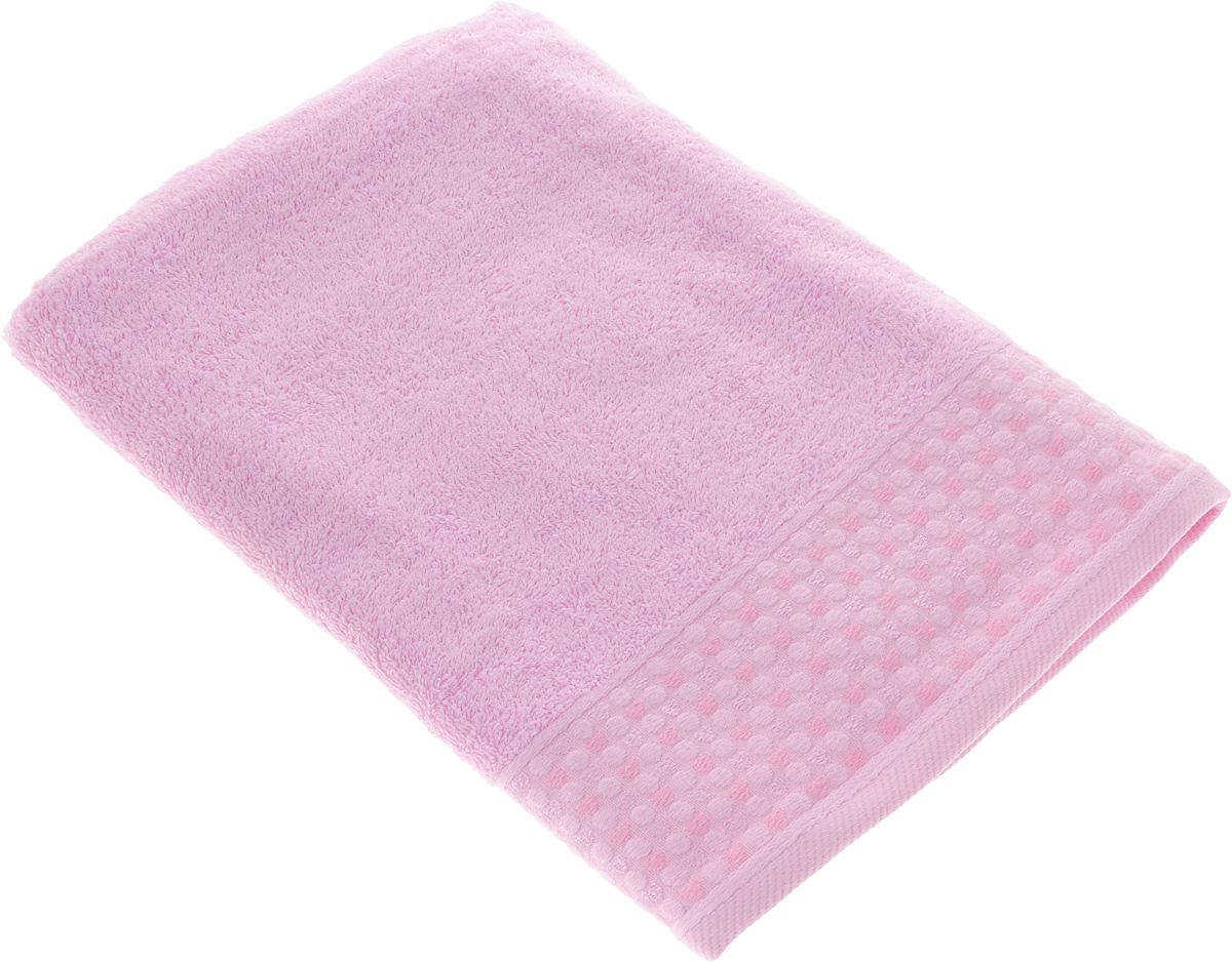 Полотенце Tete-a-Tete Сердечки, цвет: розовый, 70 х 140 смCLP446Махровое полотенце Tete-a-Tete Сердечки, изготовленное из натурального хлопка, подарит массу положительных эмоций и приятных ощущений. Полотенце отличается нежностью и мягкостью материала, утонченным дизайном и превосходным качеством. Линейка Сердечки декорирована бордюром с сердечками и горошком, полотенце выполнено в пастельном тоне.Полотенце прекрасно впитывает влагу, быстро сохнет и не теряет своих свойств после многократных стирок. Махровое полотенце Tete-a-Tete Сердечки станет прекрасным дополнением в дизайне ванной комнаты. Полотенце, упакованное в красивую коробку, может послужить отличной идеей подарка.