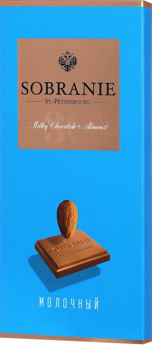 Sobranie молочный шоколад с орехами, 90 г14 1550Sobranie — особый шоколад, в котором соединяются верность российским кондитерским традициям, бескомпромиссность качества и изысканность вкуса. Созданный по бережно хранимому рецепту прошлоговека, шоколад Sobranie изготавливается исключительно из отборных какао-бобов с Берега Слоновой Кости.Уважаемые клиенты! Обращаем ваше внимание на то, что упаковка может иметь несколько видов дизайна. Поставка осуществляется в зависимости от наличия на складе.