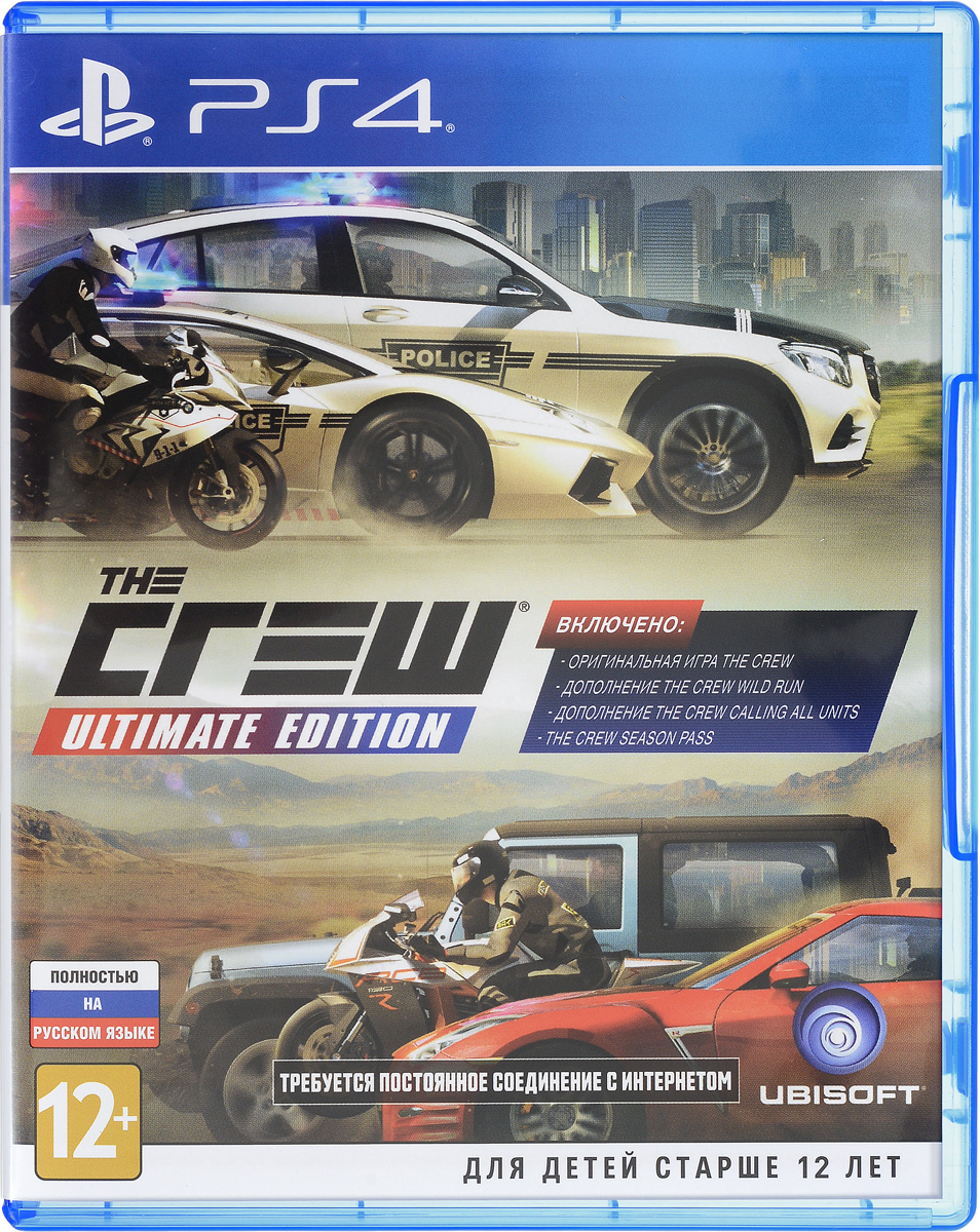 The Crew. Ultimate Edition (PS4)