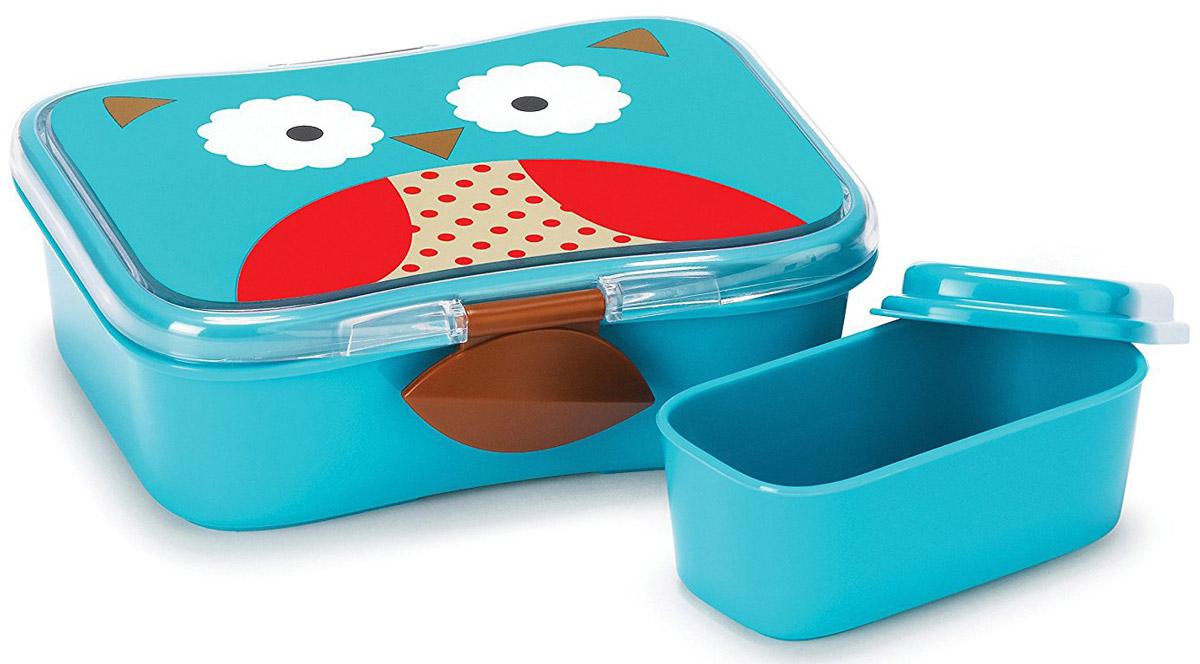 SkipHop Детский контейнер для еды Сова