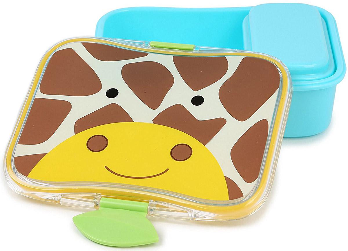 SkipHop Детский контейнер для еды Жираф