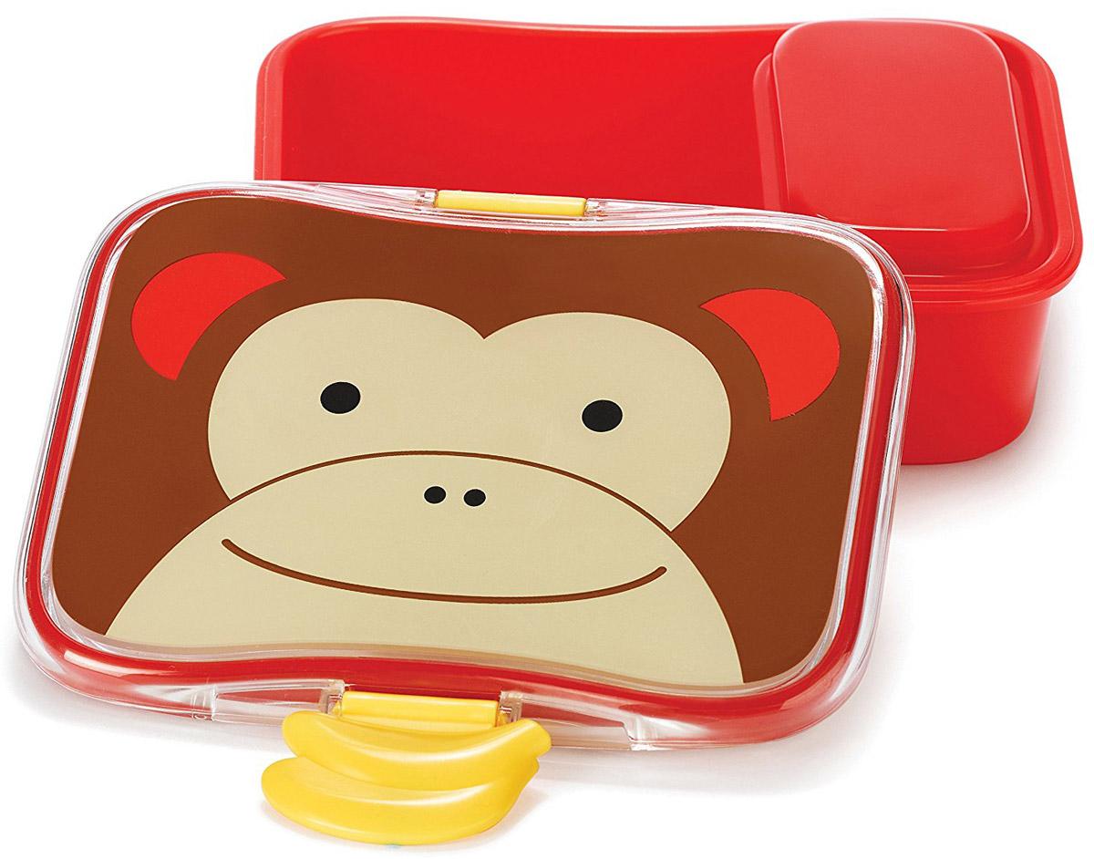 SkipHop Детский контейнер для еды Обезьяна