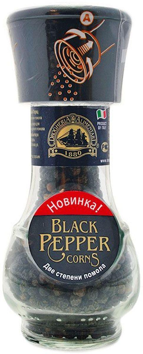 Drogheria е Alimentari мельница две степени помола черный перец, 46 г0120710Мельницы Drogheria & Alimentari раскроют уникальный аромат каждой специи и пряности непосредственно в процессе приготовления любимого блюда. Уникальная мельница Drogheria & Alimentari позволяет выбрать необходимую степень помола - крупную или мелкую. С её помощью можно без усилий перемолоть даже самые твердые частички соли. Компания Drogheria & Alimentari, основанная в 1880 году во Флоренции, в настоящее время обладает самыми большими производственными мощностями в Европе.