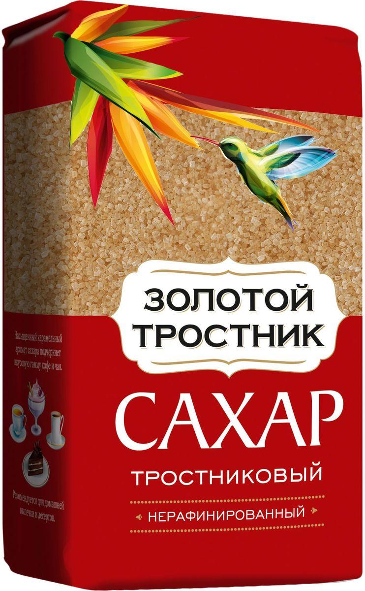 Золотой тростник сахар тростниковый нерафинированный, 900 г