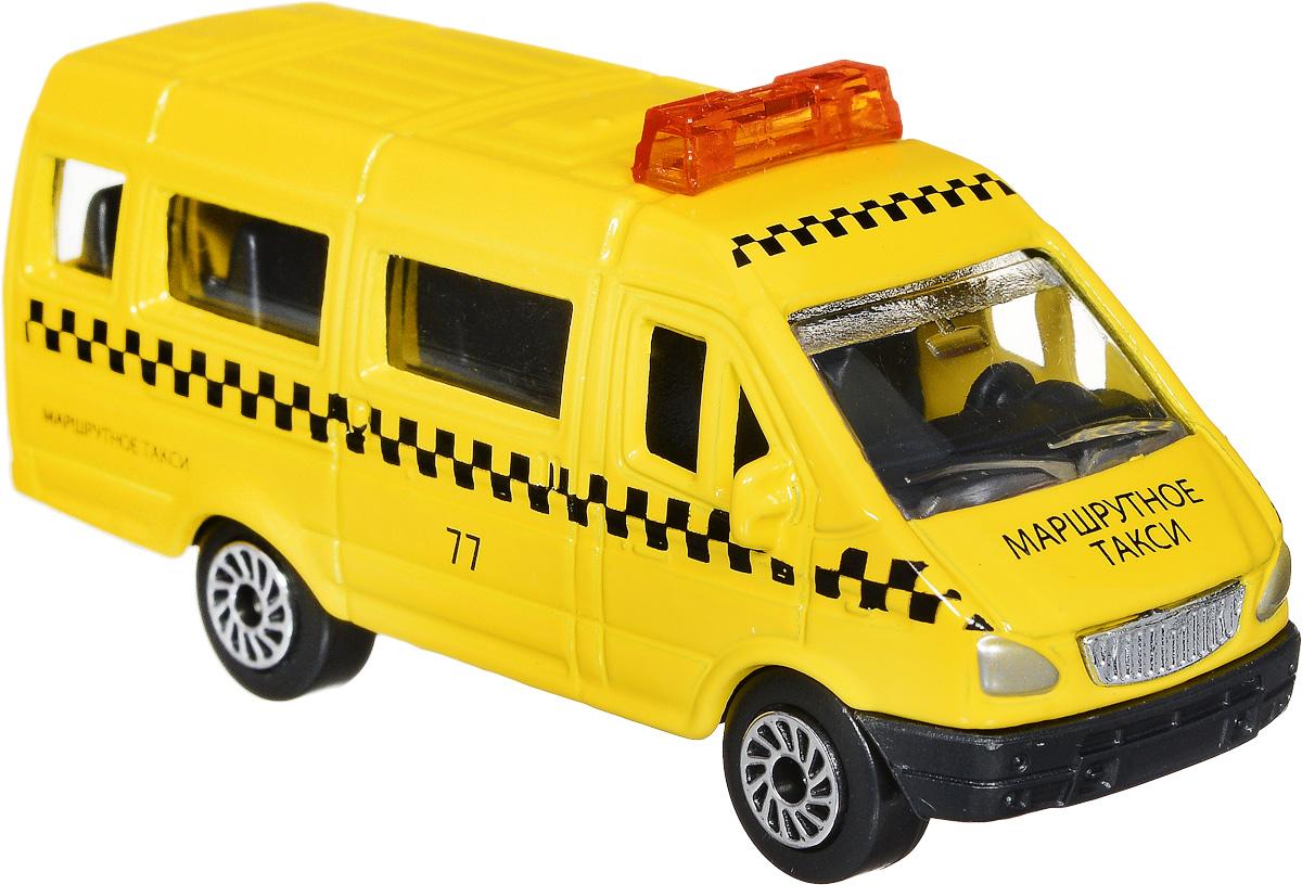 ТехноПарк Модель автомобиля Газель Маршрутное такси масштаб 1:72