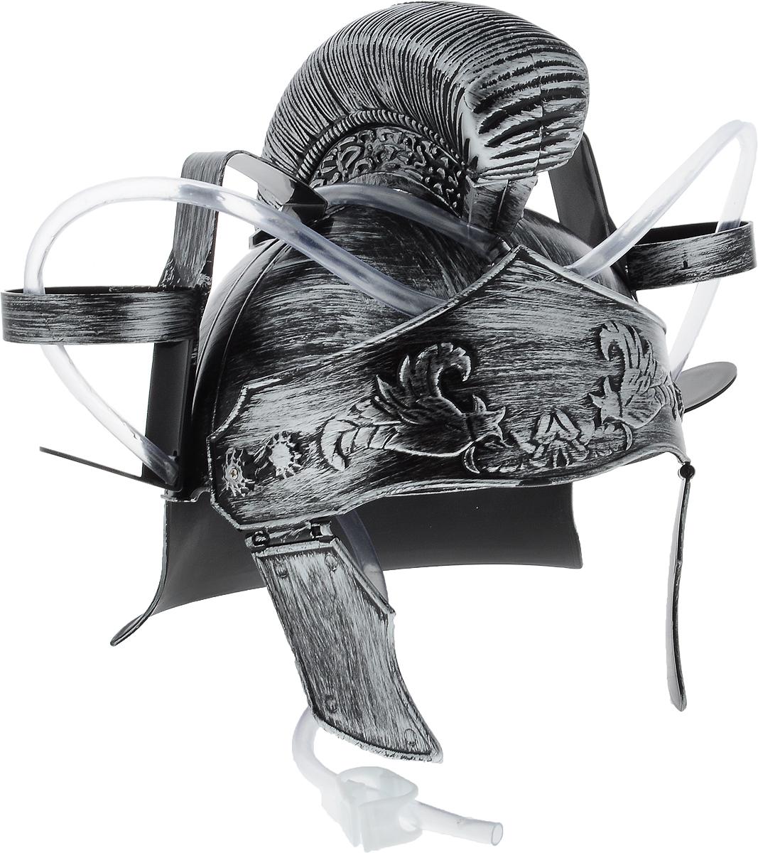 Каска Эврика Римлянин с подставками под банки971Мужчина, умеющий оставаться настоящим рыцарем, даже выпивая, определенно заслуживает женского внимания! Чтобы совместить приятное с полезным, былпридуман специальный шлем Эврика Римлянин. Каска выполнена из пластика и оснащена двумя держателями для банок/бутылок и двумя соединительными трубочками, благодаря которым можно смешивать два различных напитка в виде коктейля. Такая каска станет отличным решением для карнавала, дружеской вечеринки или в качестве амуниции болельщика на стадионе Загрузи голову и освободи руки! Рекомендуется использовать для употребления полезных напитков. Диаметр подставки для банки: 7 см.