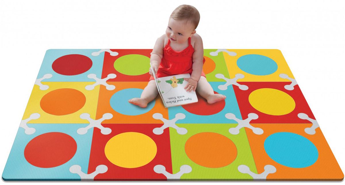 Skip Hop Напольный коврик-пазл коврик пазл для детей мягкий пол купить