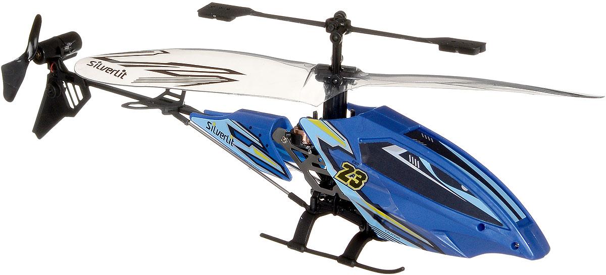 """Вертолет на инфракрасном управлении Silverlit """"Вихрь"""" привлечет внимание не только ребенка, но и взрослого, он станет отличным подарком любителю воздушной техники. Вертолет имеет трехканальное дистанционное управление. Встроенный гироскоп гарантирует стабилизацию полета. Возможные движения: взлет и посадка, поворот налево и направо, полет вперед и назад. Вертолет идеально подходит для игры внутри помещения. Каркас вертолета выполнен из пластика с использованием металла. Каждый полет вертолета будет максимально комфортным и принесет вам яркие впечатления! При включении вертолета, светодиод под кабиной автоматически загорится. Вертолет работает от встроенного аккумулятора. Заряжается аккумулятор с помощью пульта дистанционного управления (входит в комплект). Время зарядки составляет 20-30 минут. Время работы вертолета с полностью заряженным аккумулятором - 4-5 минут. Для работы пульта управления необходимо купить 4 батарейки типа АА напряжением 1,5V (не входят в комплект)."""