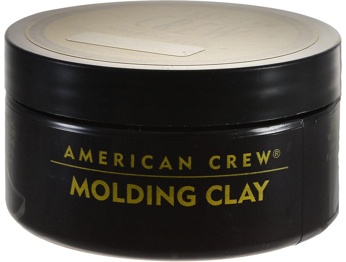 American Crew Формирующая глина для укладки волос Classic Molding Clay 85 мл80285305Моделирующая глина для укладки волос American Crew Classic Molding Clay идеально подходит для создания коротких причесок. Сильная фиксирующая способность косметического средства сочетается со средним уровнем блеска волос. Содержащиеся в составе натуральные экстракты и пчелиный воск позволяют сделать любую укладку. Рекомендуется использование формирующей глины тем, кто ищет продукты для стайлинга с натуральным легким ароматом или же часто занимается спортом.