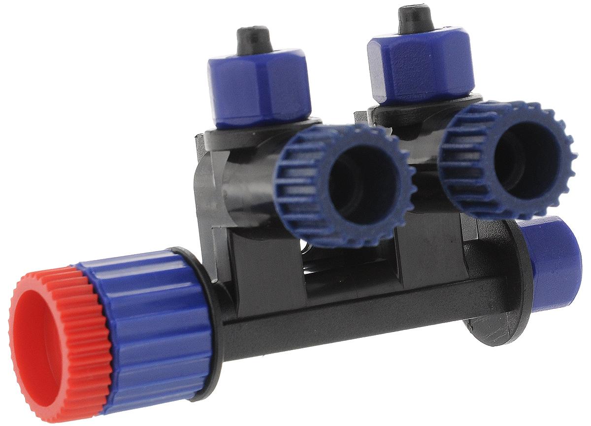 Вентиль воздушный JBL ProSilent Control, для аквариумовJBL6431600Высокоточный регулируемый воздушный вентиль JBL ProSilent Control предназначен для использования в аквариумах. Вентиль имеет 1 вход и 2 отдельных регулируемых выхода для воздуха. Каждое присоединение шланга оборудовано фиксатором (резьба с защелкой). Можно присоединить еще один регулируемый воздушный вентиль. Возможен монтаж на стену. Не подходит для регулирования подачи CO2.