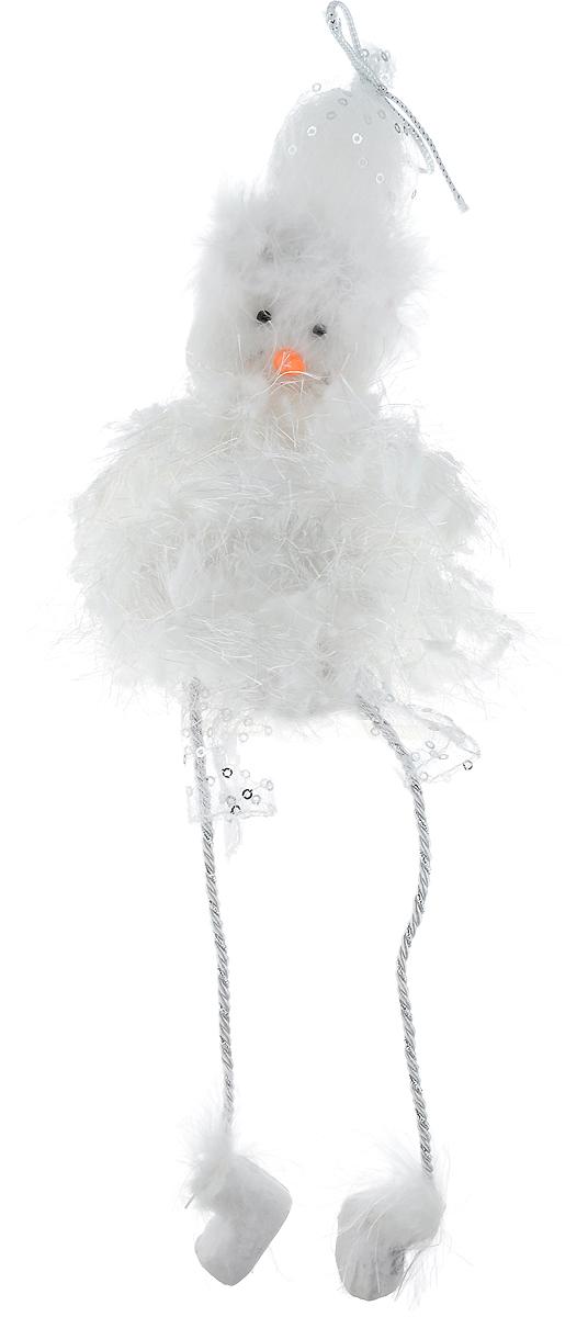 Фигурка новогодняя Win Max Снеговик, высота 30 смIRK-503Фигурка декоративная Win Max Снеговик станет отличным украшением интерьера в преддверии Нового года. Изделие выполнено из полимера и текстиля в виде забавного снеговика. Изделие декорировано перьями и пайетками. Красивая новогодняя фигурка создаст в вашем доме атмосферу праздника. Почувствуйте волшебные минуты ожидания праздника, создайте новогоднее настроение вашим родным и близким.