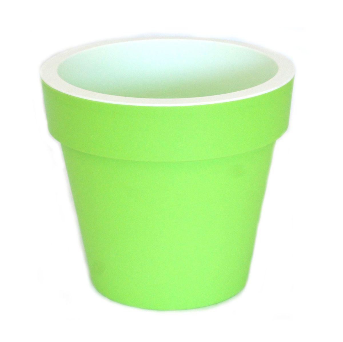 Кашпо JetPlast Порто, со вставкой, цвет: фисташковый, 6 л4612754050970Кашпо Порто классической формы с внутренней вставкой-горшком. Дренажная вставка позволяет легко поливать растения без использования дополнительного поддона. Вместительный объем кашпо позволяет высаживать самые разнообразные растения, а съемная вставка избавит вас от грязи и подчеркнет красоту цветка. Оно изготовлено из прочного полипропилена (пластика). Такое кашпо порадует вас функциональностью, а благодаря лаконичному дизайну впишется в любой интерьер помещения. Объем кашпо: 6 л.