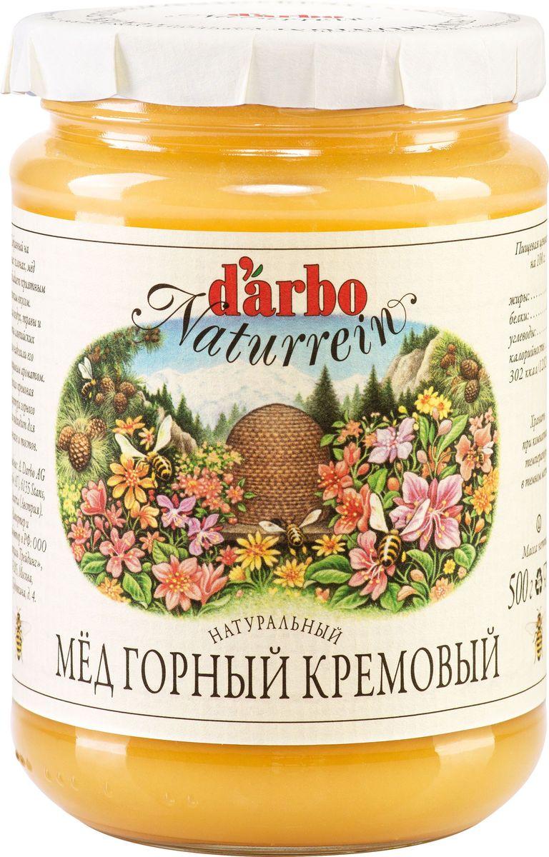 Darbo мед горный кремовый, 500 г22332Собранный на горных склонах мед Darbo обладает приятным тонким вкусом. Свежий воздух, травы и цветы альпийских лугов наделили его неповторимым ароматом. Нежная кремовая структура горного меда подходит для блинчиков и тостов.