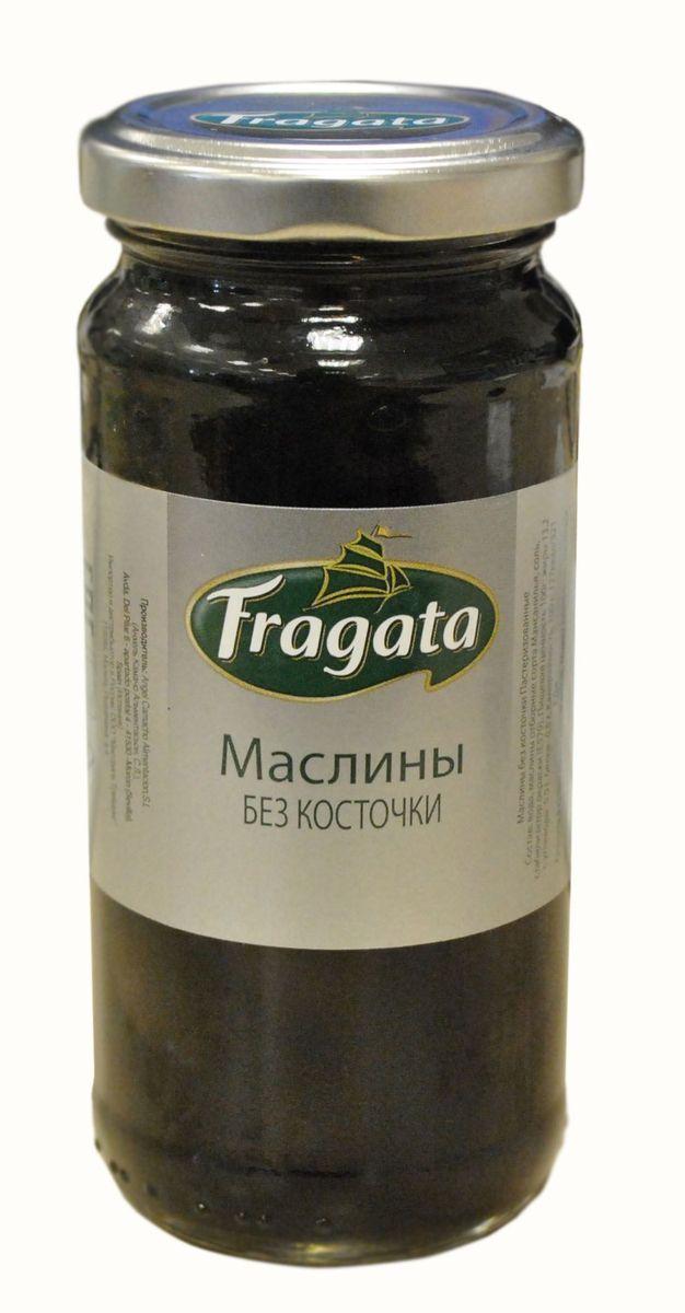 Fragata маслины без косточки, 230 г8437001404452Маслины - неотъемлемая часть средиземноморской кухни, используются как для украшения блюд, так и в качестве их полноценного компонента. Подаются к мясу, дичи, рыбным блюдам, входят в состав овощных паст и соусов, а также используются в качестве самостоятельной закуски.