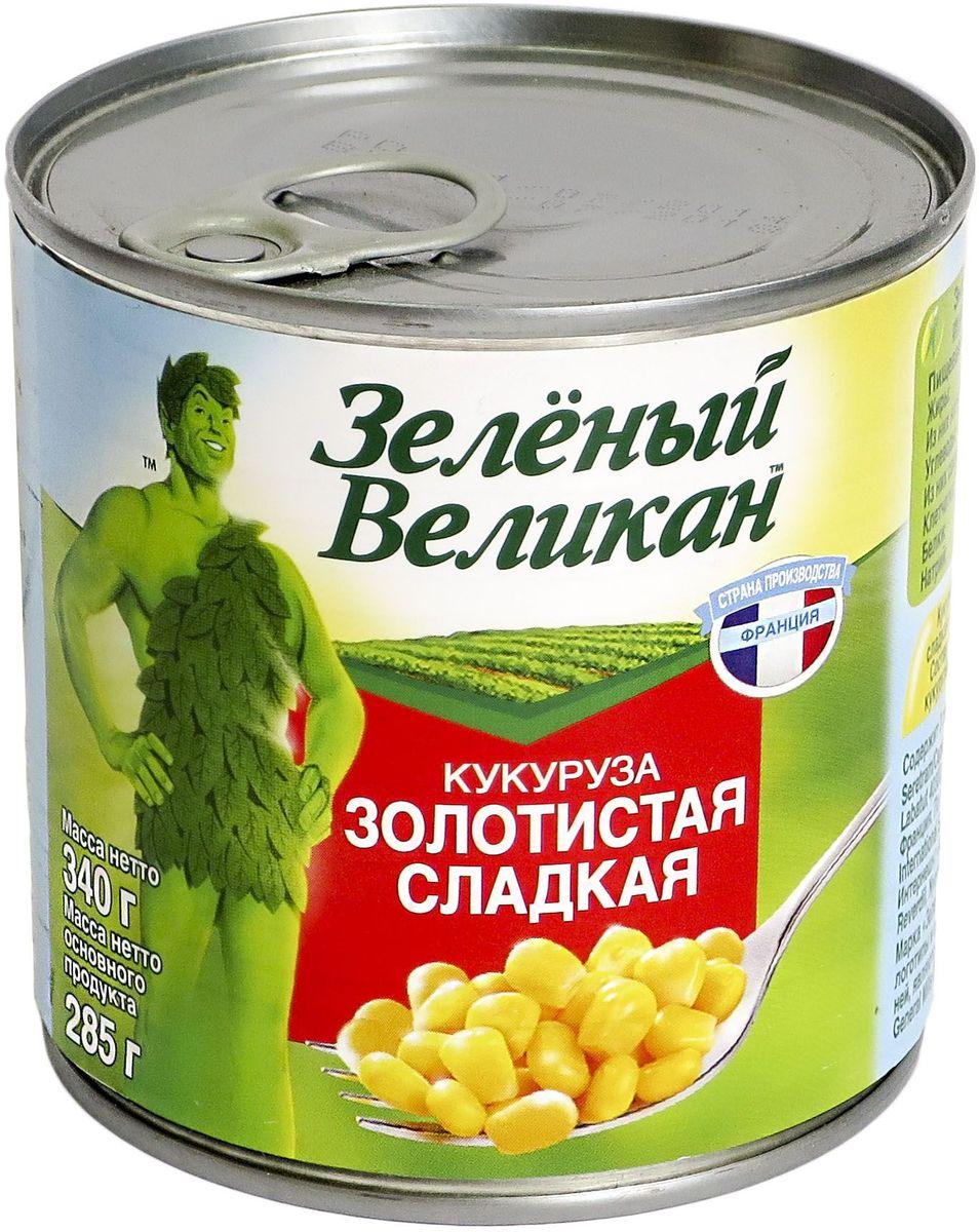 Зеленый великан кукуруза золотистая сладкая, 340 г0120710Высокосортный натуральный продукт из тщательно отобранных зерен. Отборные яркие зерна сладкой кукурузы, максимально сохранившие природный вкус и полезные свойства за счет современной техники заморозки. Необычайно вкусный низкокалорийный продукт идеально подходит тем, кто контролирует свой вес. Возраст кукурузы насчитывает 7000 лет, её открыли в Мексике и за это время полезные злаки покорили сердца кулинаров всего мира. Вакуумная упаковка надежно сохраняет природный вкус и золотистый цвет кукурузы, её богатый витаминно-минеральный комплекс. Это отличное дополнение к салатам и гарнирам.