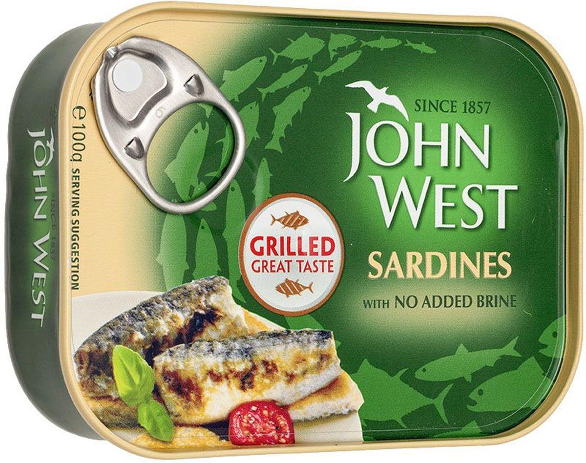 John West сардины гриль, 100 г0120710John West - это широкий ассортимент рыбной консервации премиального европейского качества.