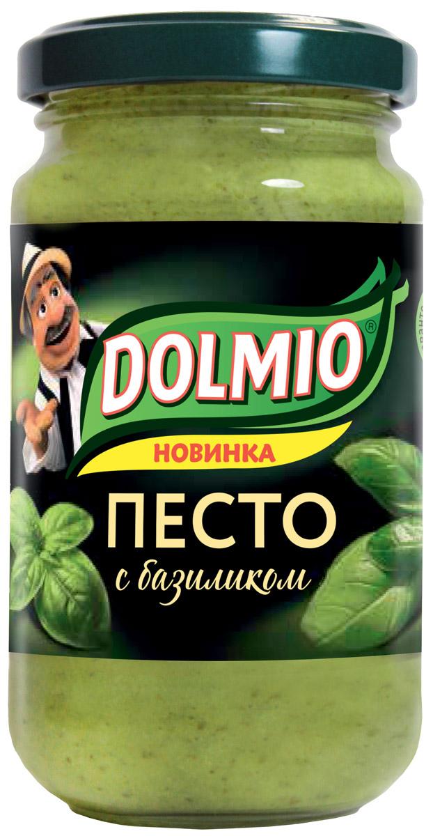 Dolmio соус песто с базиликом, 180 г0120710Традиционный для Италии соус с базиликом, орехами и твердым сыром. Рыба, мясо, макароны, рис, салат - соус Dolmioраскроет вкус знакомых блюд по-новому.
