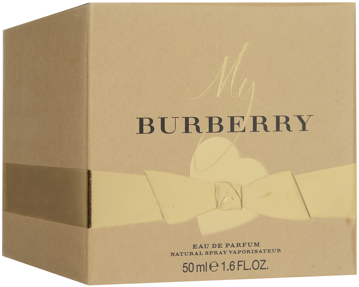 BURBERRY MY BURBERRY WOMAN парфюмированная вода 50МЛPMF3000Цветочные. Бергамот, душистый горошек, айва, герань, фрезия, пачули, роза