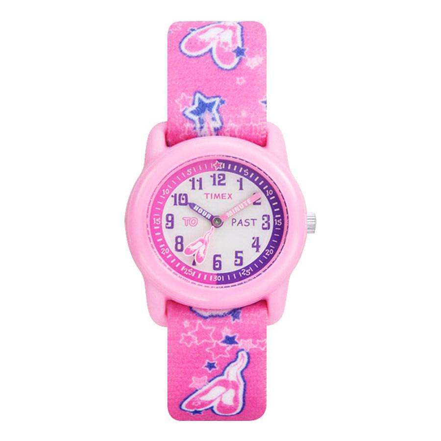 Zakazat.ru Наручные часы детские Timex, цвет: розовый. T7B151