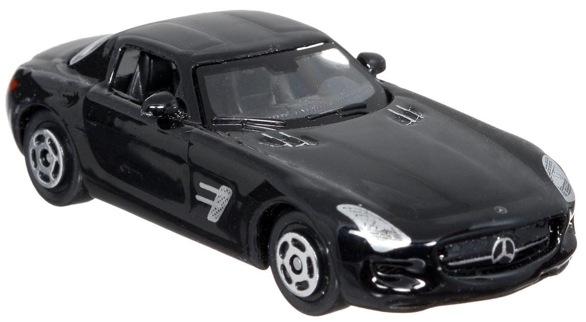 ТехноПарк Модель автомобиля Mercedes-Benz SLS AMG цвет черный bburago модель автомобиля mercedes benz sls amg roadster