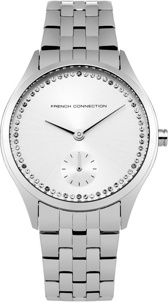 Zakazat.ru Наручные часы женские French Connection, цвет: серебряный. FC1272SM