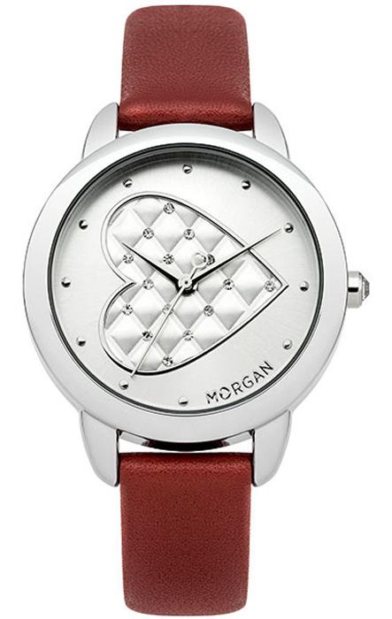 Zakazat.ru: Наручные часы женские Morgan, цвет: красный. M1252R